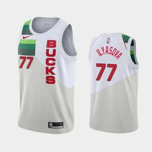Milwaukee Bucks Ersan Ilyasova Jersey